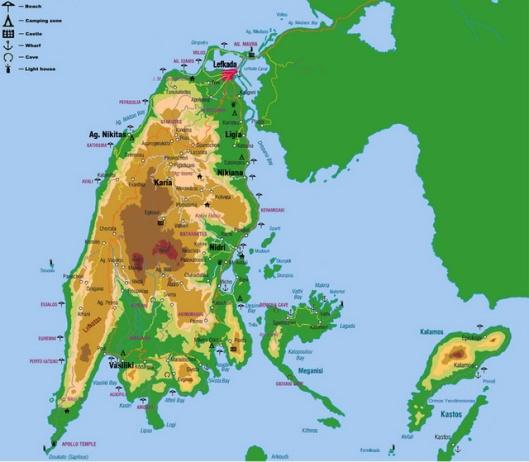 Lefkada Map 03_